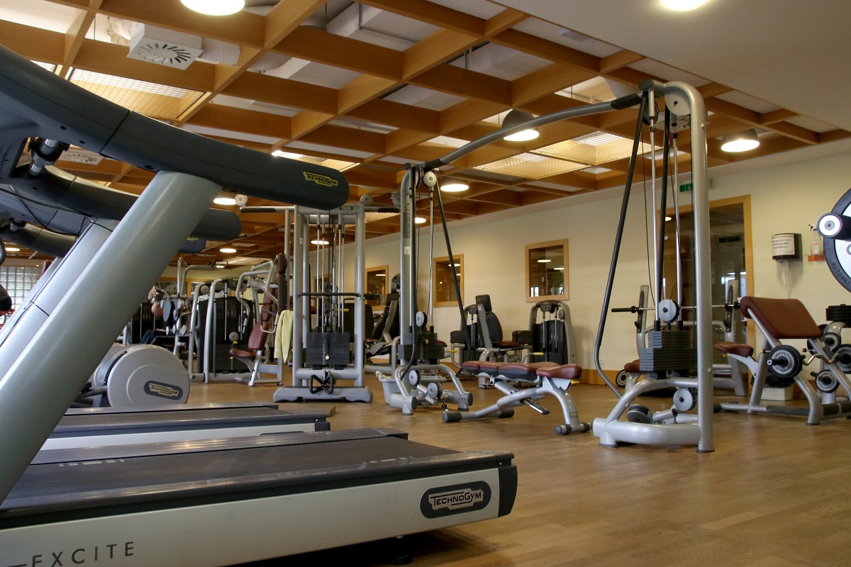 Fitnesstudio im Sporthotel Almesberger im Böhmerwald - Hotel Almesberger****S