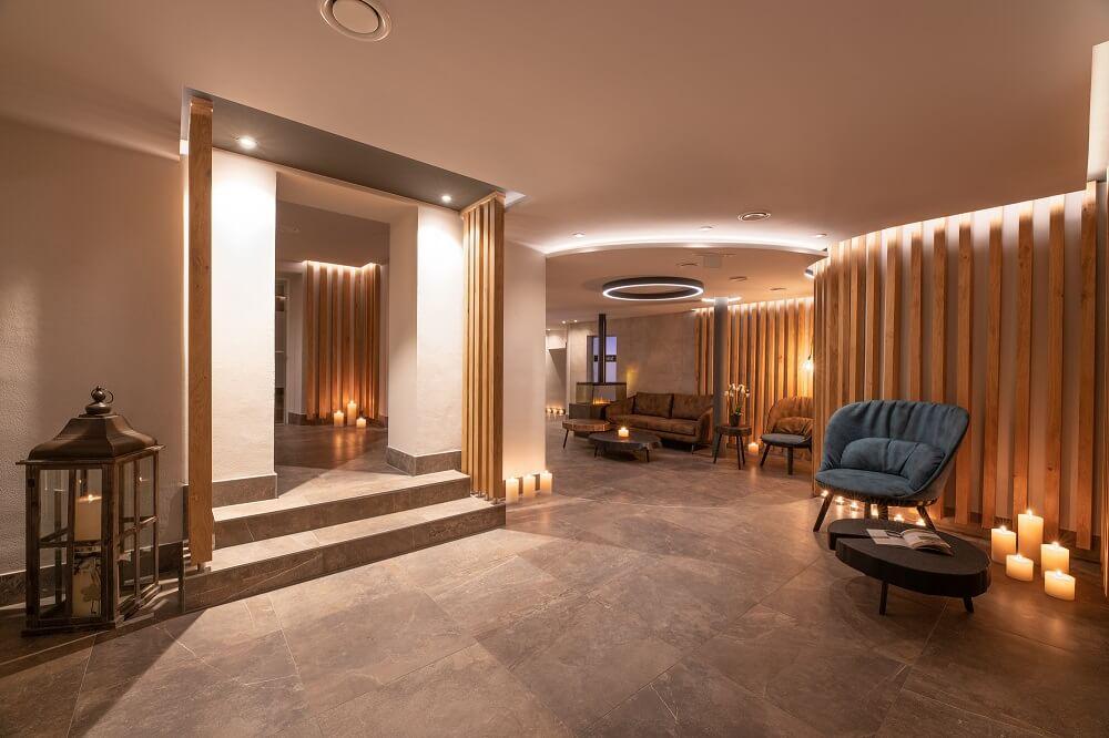 Neuer Wellnessbereich im Hotel Almesberger****S Aigen Schlägl