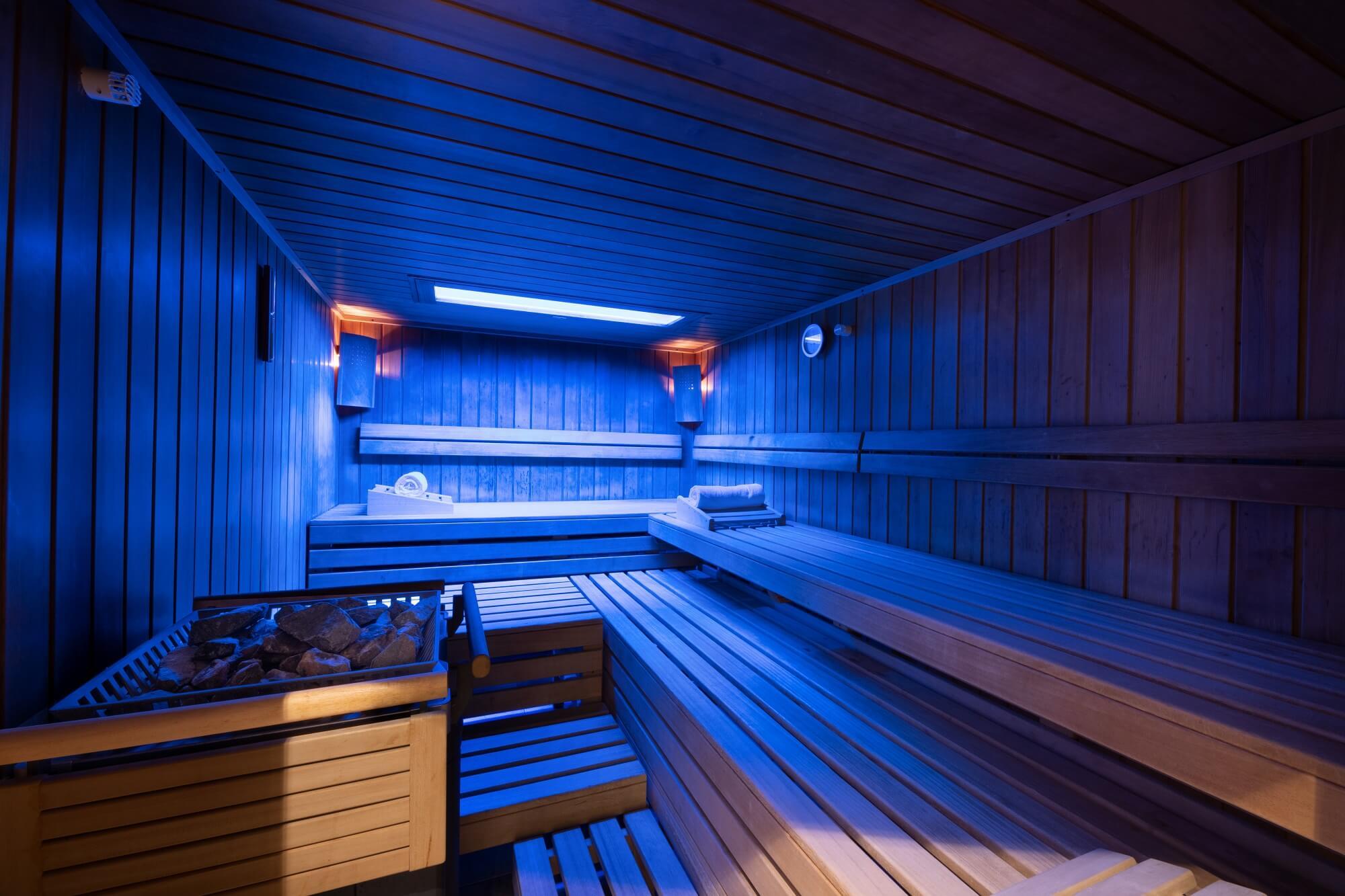 Wellnessbereich Neu im Hotel Almesberger, Sanarium